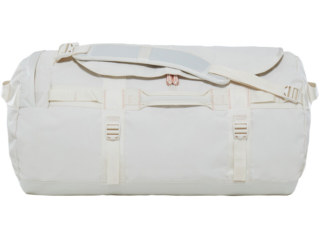 The North Face Base Camp Duffel M Vintage White/Burnt Coral